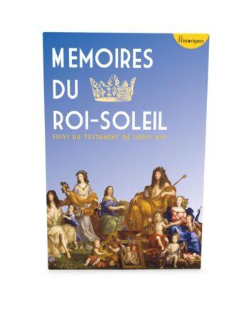Couv-Mémoires du Roi Soleil - Louis XIV - ebook
